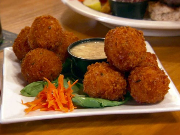 Reuben Fritters recipe from Diners, Drive-Ins and Dives via Food Network