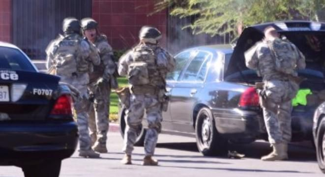 Authorities Respond to Report of 20 Victim Shooting Incident in San Bernardino: Fire Dept.