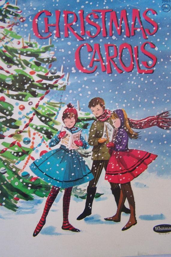 1942 Whitman Christmas Carols Paperback Book