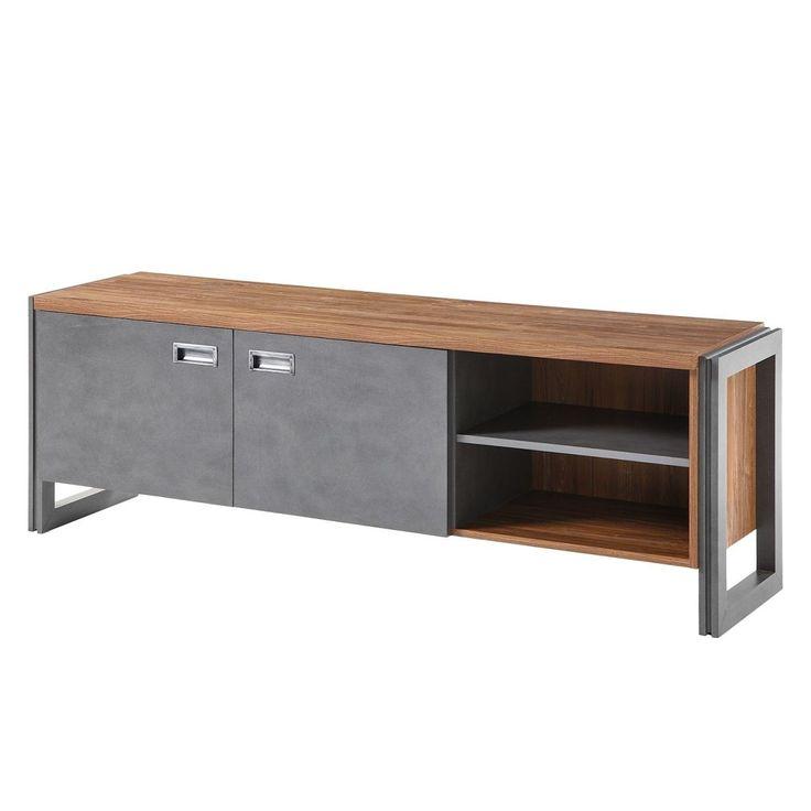 die besten 25 lowboard eiche ideen auf pinterest tv wand eiche tv lowboard und kommoden tv. Black Bedroom Furniture Sets. Home Design Ideas