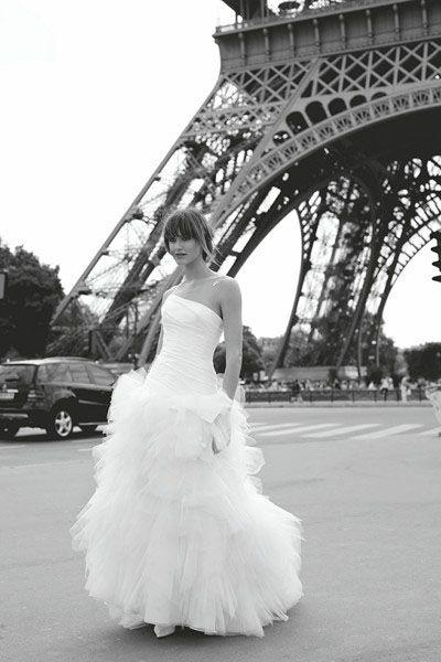 ROBE DE MARIEE CYMBELINE HALISSIA COURTE LONGUE Créateurs Vente robes et accessoires de mariée Marseille - Sonia. B