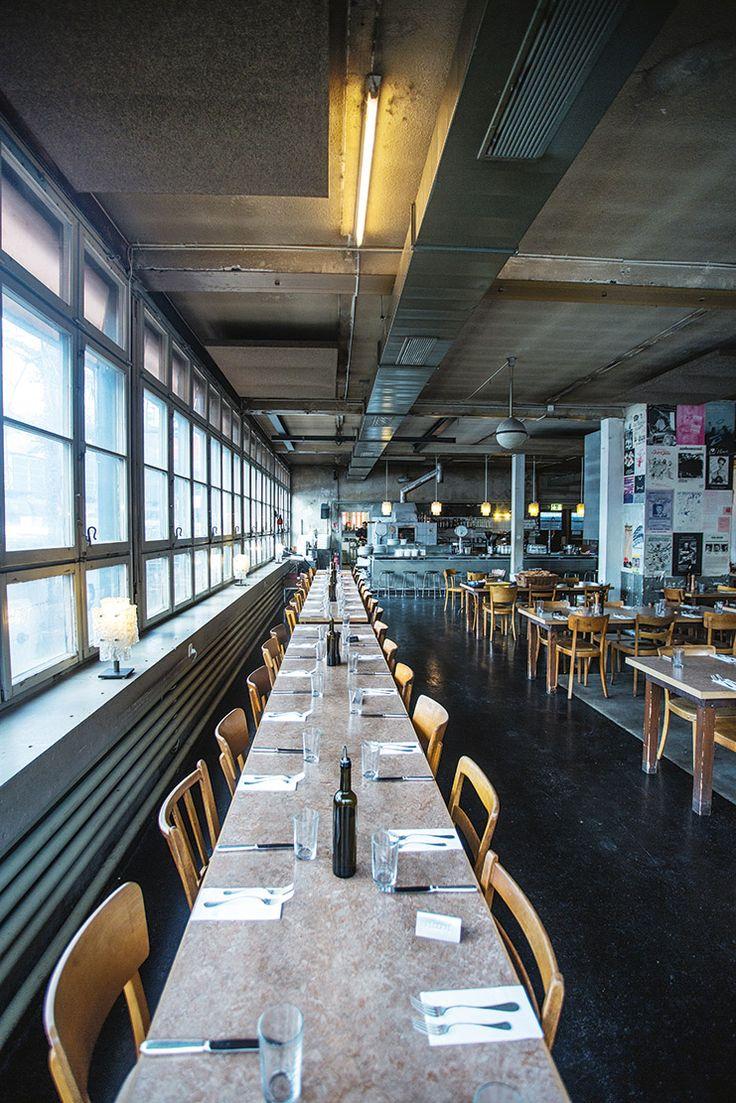 Usta guide to Zurich in spring issue. Best Italian restaurant in town Rosso