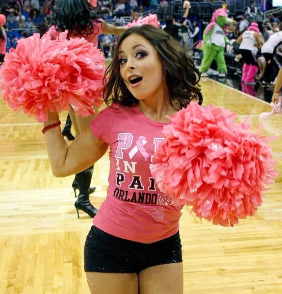 Orlando Magic cheerleaders