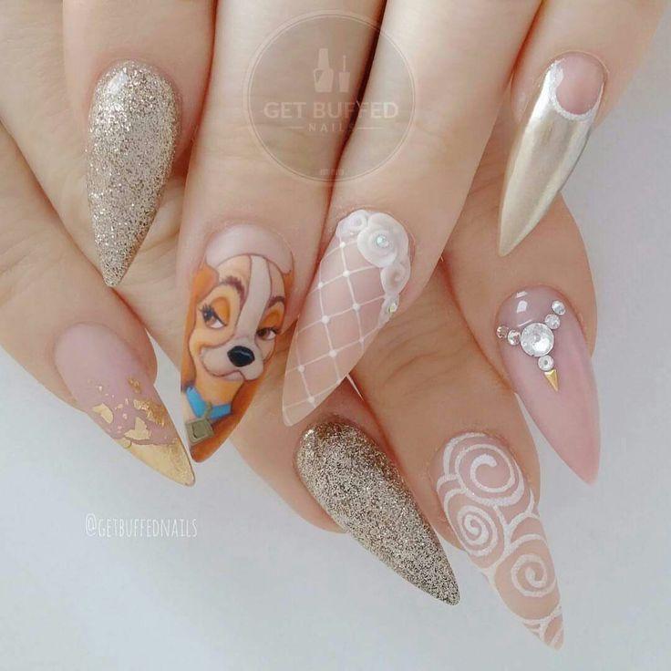 Moana Disney Nails Designs: Best 25+ Disney Acrylic Nails Ideas On Pinterest