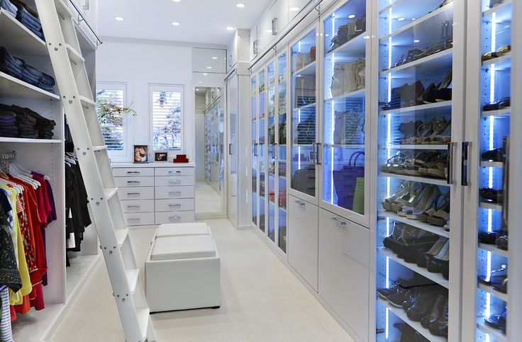 15 elegant luxury walk in closet ideas to store your on stylish and elegant modern glass wall interior design ideas get the financial benefits id=53673