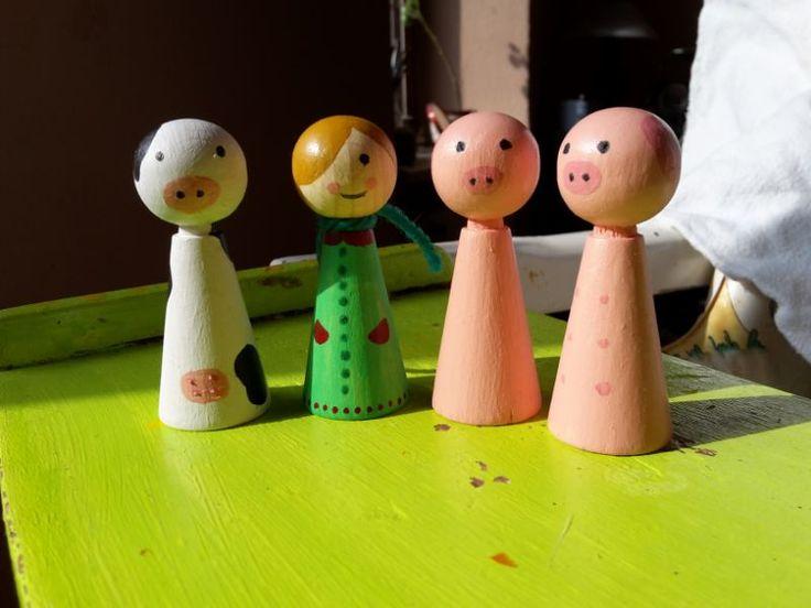 Spielfiguren aus holz spielfiguren basteln spielfiguren und spiele - Spielfiguren basteln ...