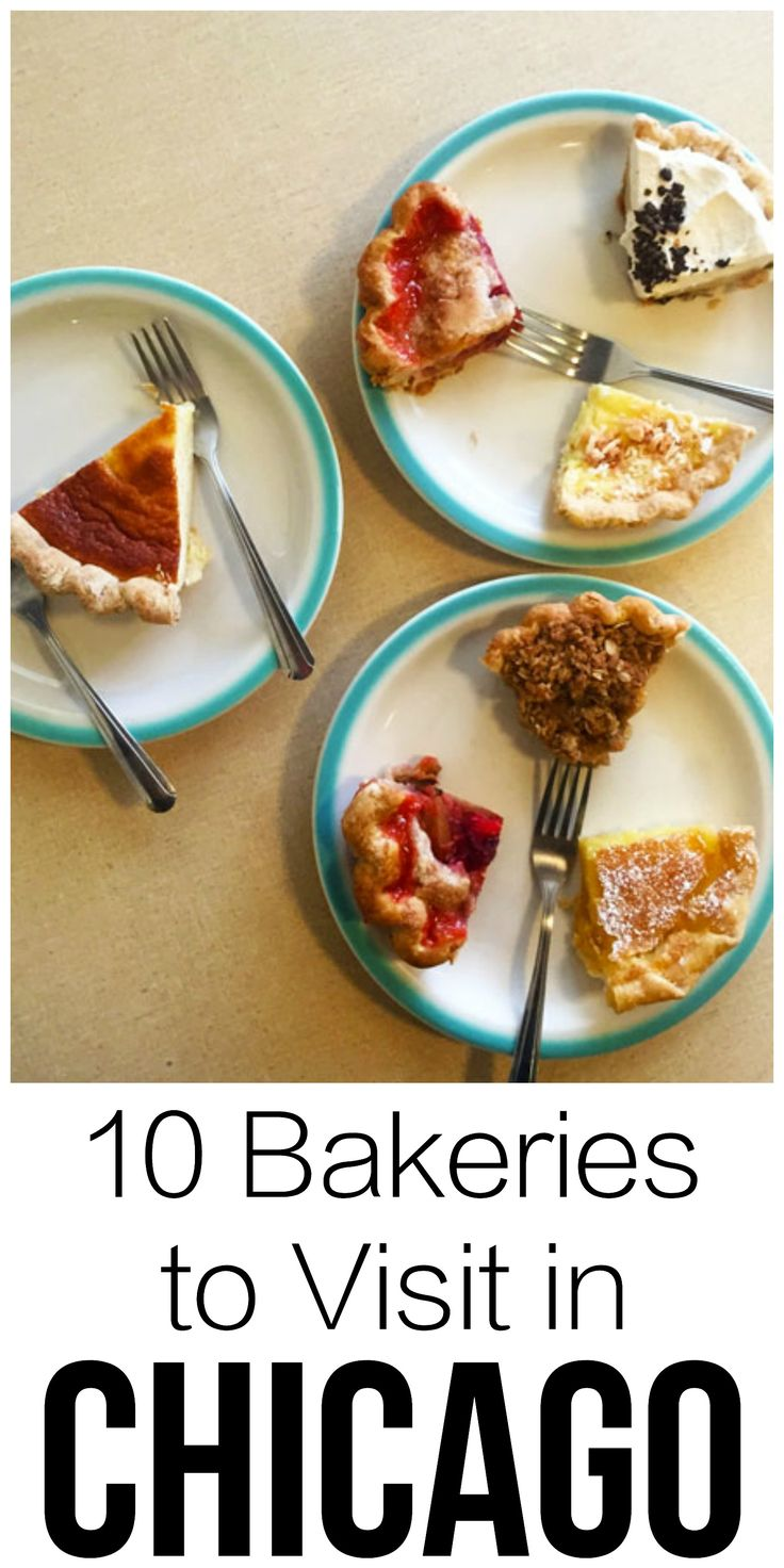 10 MUST TRY bakeries in Chicago. If you love desserts and baked goods - this list is for you!   thehungrytravelerblog.com