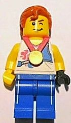 BrickLink Team GB. Agile Archer.  Love his hair!