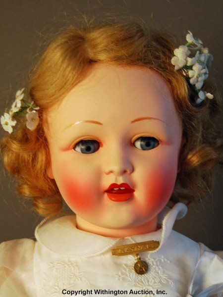 Vintage Celluloid doll by Raynal
