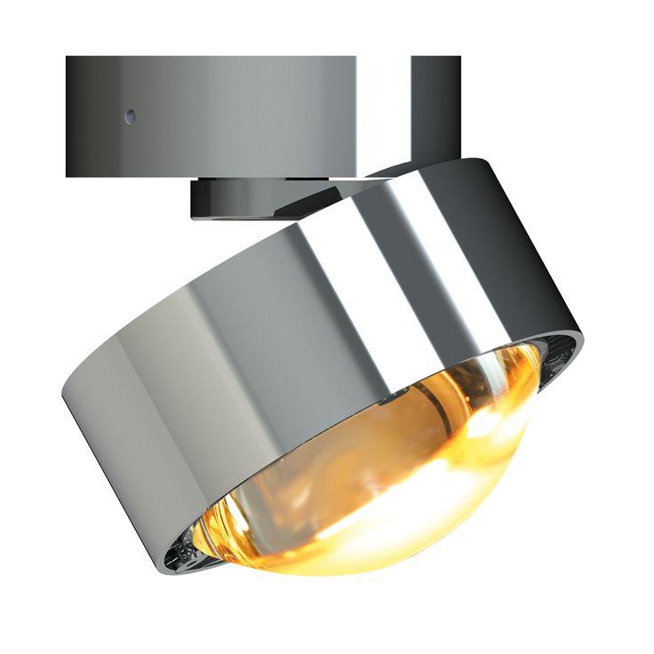 Inspirational Puk Move LED Wand und Deckenleuchte Linse chrom gl uaumlnzend Jetzt bestellen unter https moebel ladendirekt de lampen deckenleuchten deckenlampen uid ud