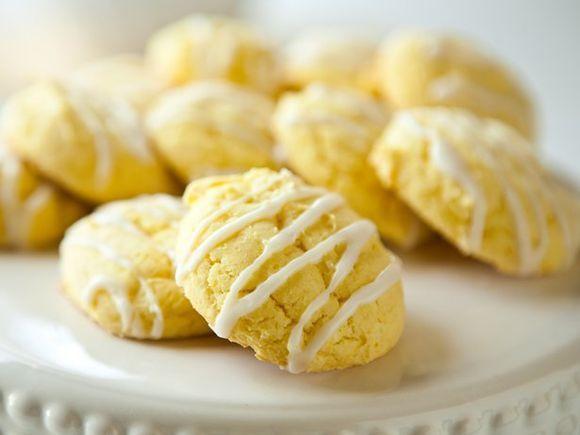 Лимонное печенье: рецепт с фото