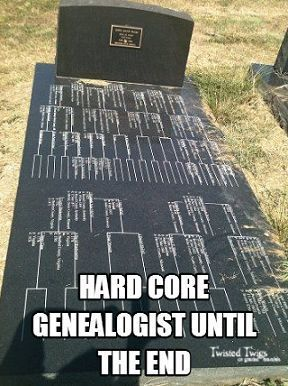 A Grave Outcome for One Family Tree Source: http://ancstry.me/1UCrLvm Photo by Cheryl Lang. Shared from Twisted Twigs On Gnarled Branches #Genealogy #familyhistory #ancestry #findagrave #cemeteries #familytree #genealogist