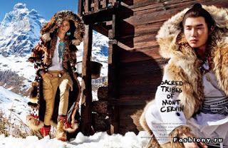 On-line магазин-ателье : Анна Селезнева для Vogue Япония