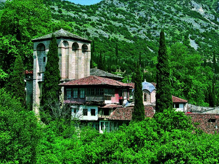 Timios Prodromos Monastery - Serres Regional Unit - Greece