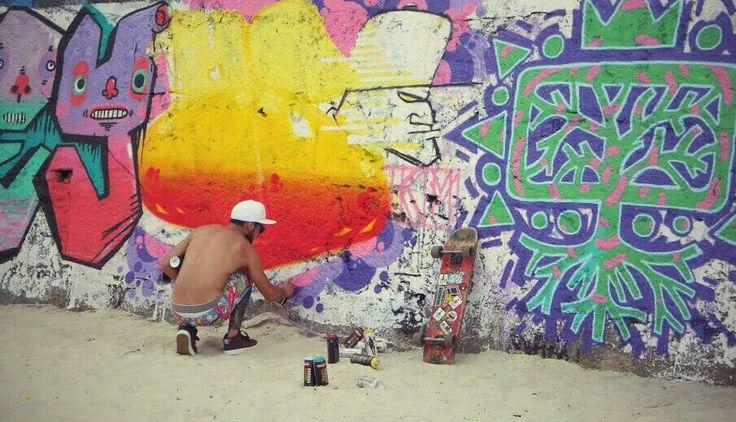 Rio de Janeiro, Street Art.