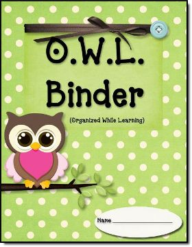Google Image Result for http://teachingblogexpo.com/blogging101/OWL%2520Binder%2520Starter%2520Kit.png