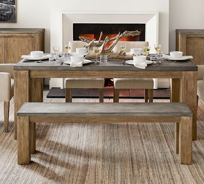 Brooks Dining Bench Dining Room Design Dining Room Table Wood