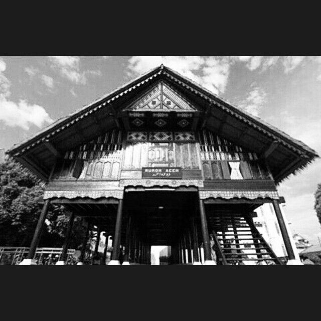 Rumah Adat Aceh #VernacularArchitecture #TraditionalArchitecture