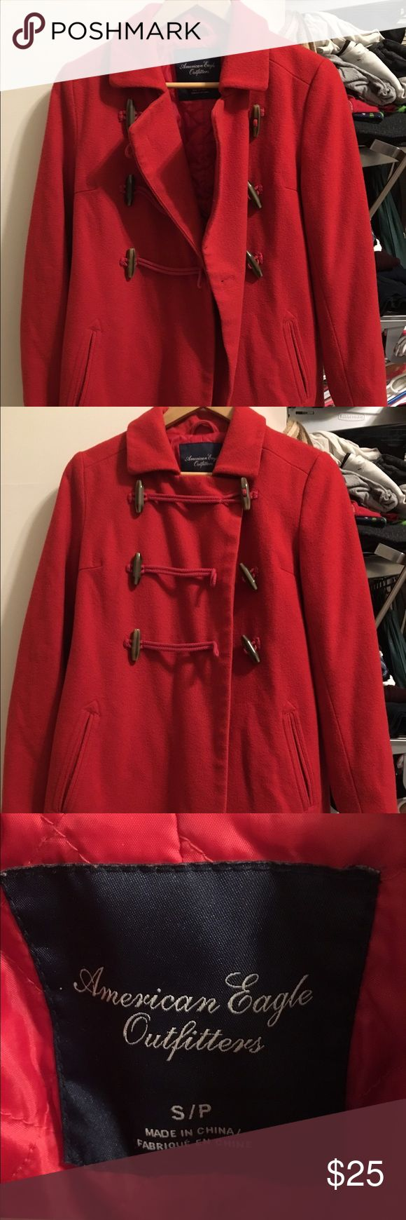 Women parka Like new condition. Only wear once American Eagle Outfitters Jackets & Coats