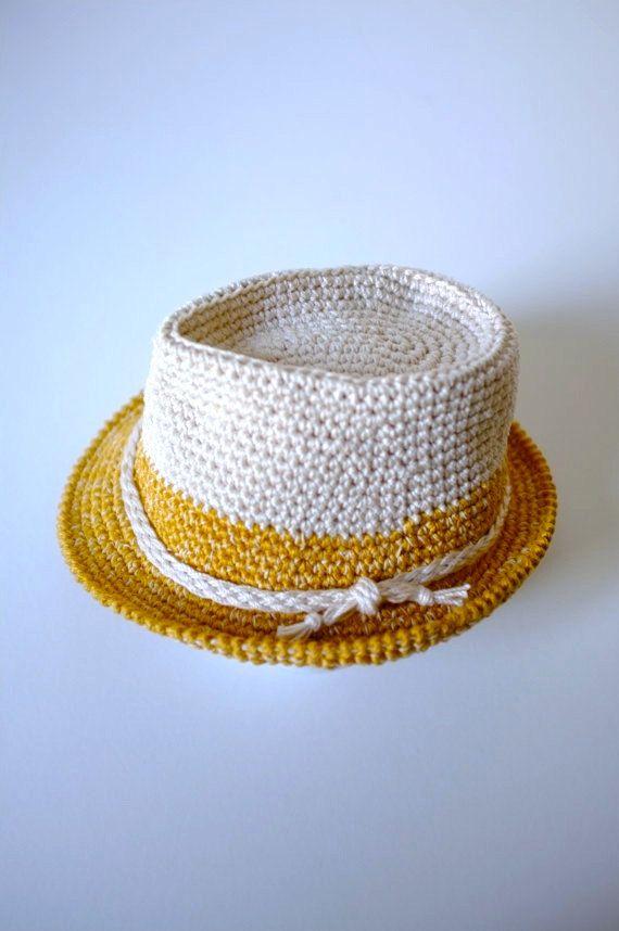 Bebé niño Fedora sombrero y pajarita apoyos de la por milazshop