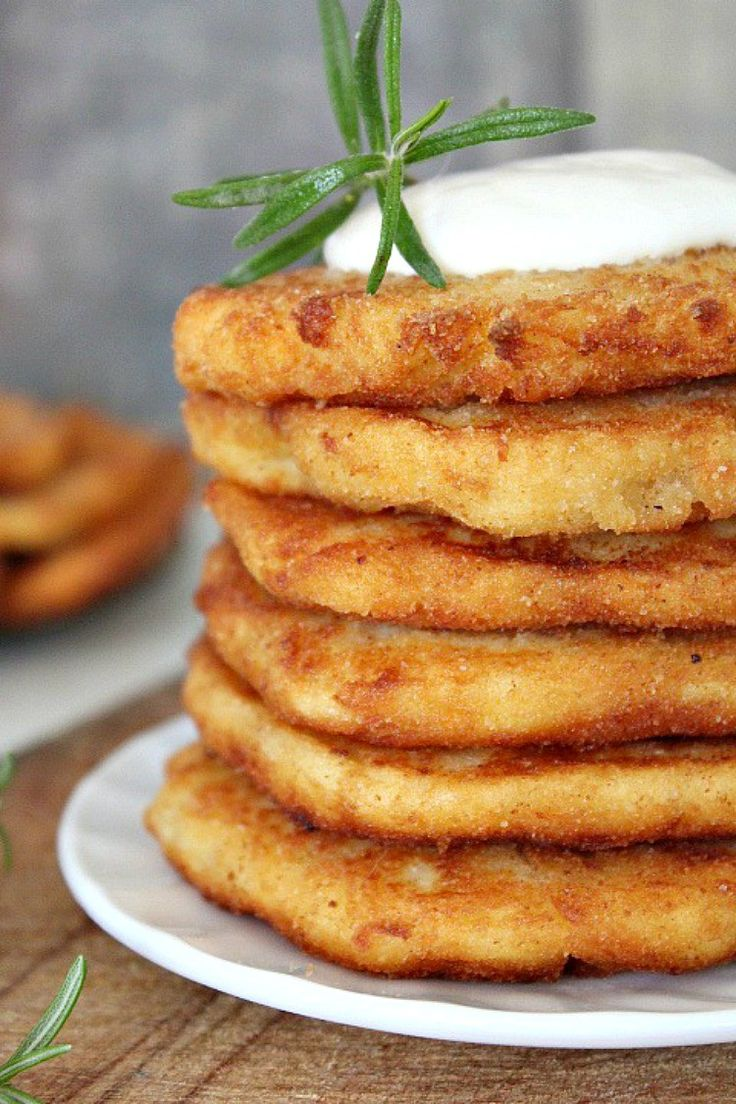 Crispy Mashed Potato Pancakes