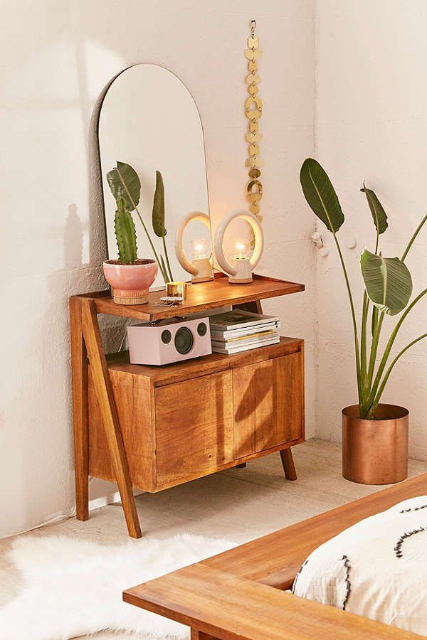 Modern Boho Media Stand | Urban Outfitters