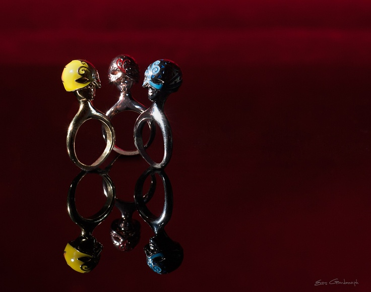 burlesque rings - CoiCoi fashion jewels 2013 collection - www.coicoi.it