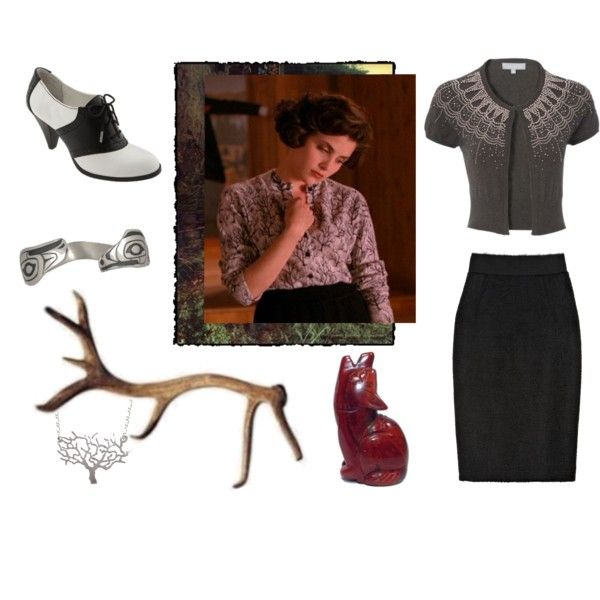 The Audrey Horne, created by iscottedit on Polyvore