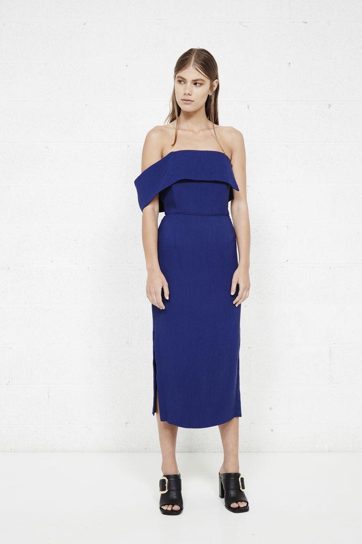 THIRD FORM - Override Dress In Azure