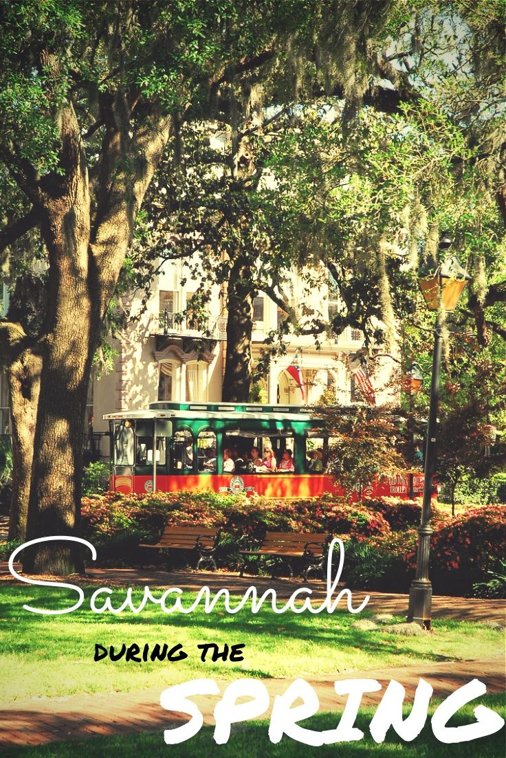 There are so many things to do during the spring in Savannah, GA with Old Town Trolley Tours! #OldTownTrolleyTours #Savannah #travel