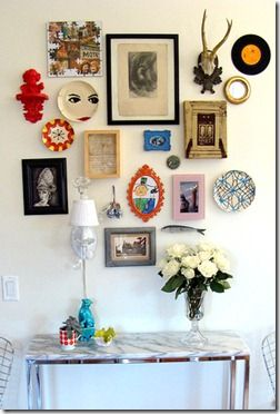 Kevin O'Shea Designs - Wall of Curiosities-1 - And more great home decor ideas