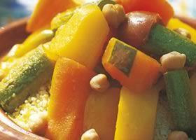 Recept voor Couscous met lamsvlees en zeven groenten | Solo Open Kitchen