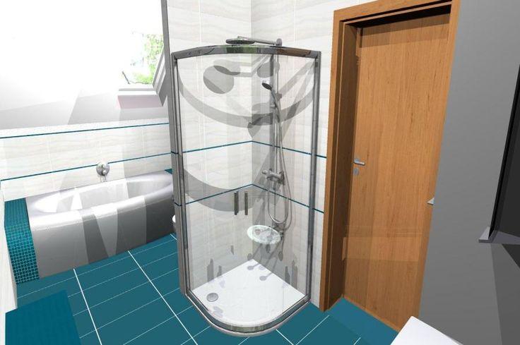 koupelna 1 - vizualizace