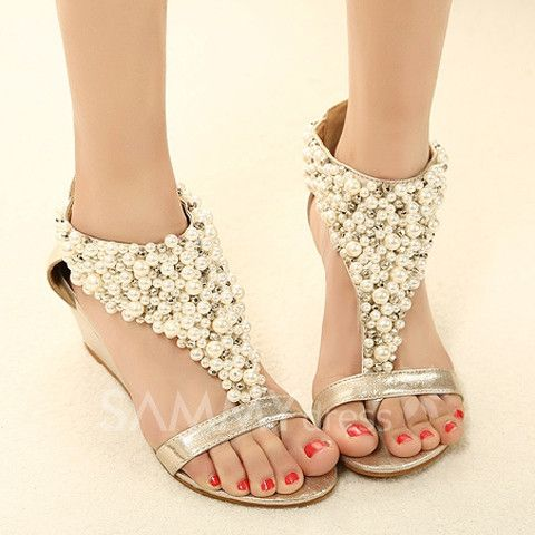 Sweet Womens wedge sandals