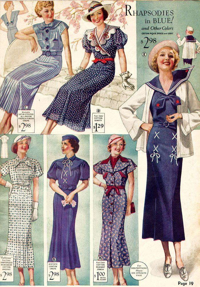 Hur man åldersbestämmer vintagekläder, del 2