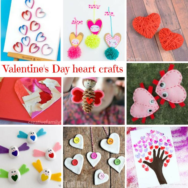 Valentine Fabric Crafts