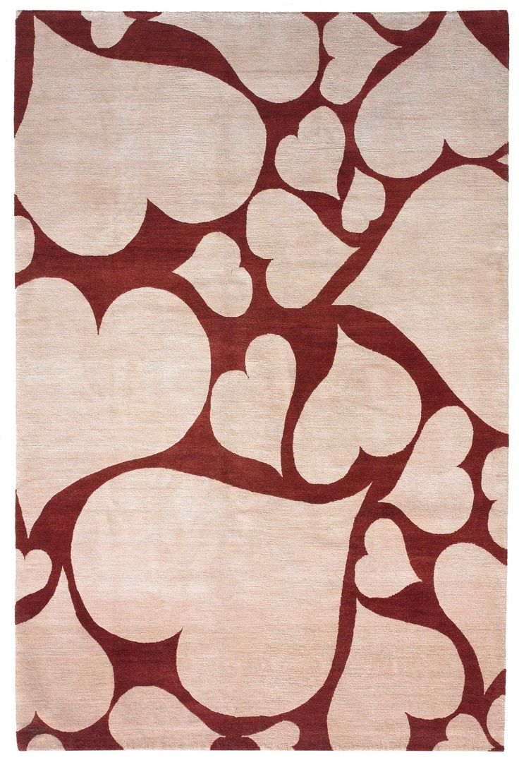 valentine red rug