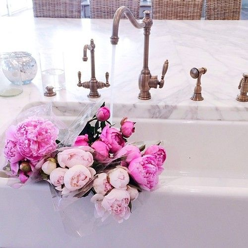 Fashion is Endless: Inspiration, Southern Charms, Dreams, Beautiful Flowers, Bloom, Farms Sinks, 30 Image, Pink Peonies, Kitchens Sinks