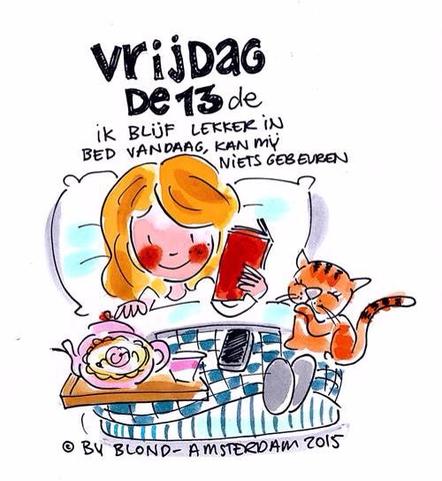 Vrijdag de 13e (13-02-2015) - Blond Amsterdam
