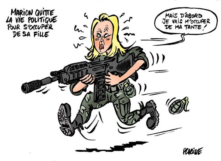 Marion Maréchal-Le Pen veut quitter la politique
