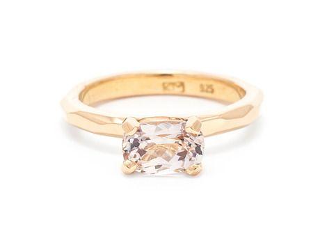 Krista McRae Jewellery Australia. www.kristamcrae.com  champagne sapphire ring