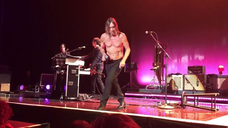 Iggy Pop - China girl - Amsterdam 10.5.2016 Post Pop Depression Tour