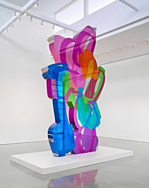 Jeff Koons . coloring book | Installation | Jeff koons art, Jeff koons, Gagosian gallery
