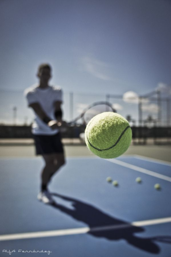 Tennis Ball By Alberto Fernandez On 500px Learnabouttennis Tennis Photography Tennis Photos Tennis Wallpaper