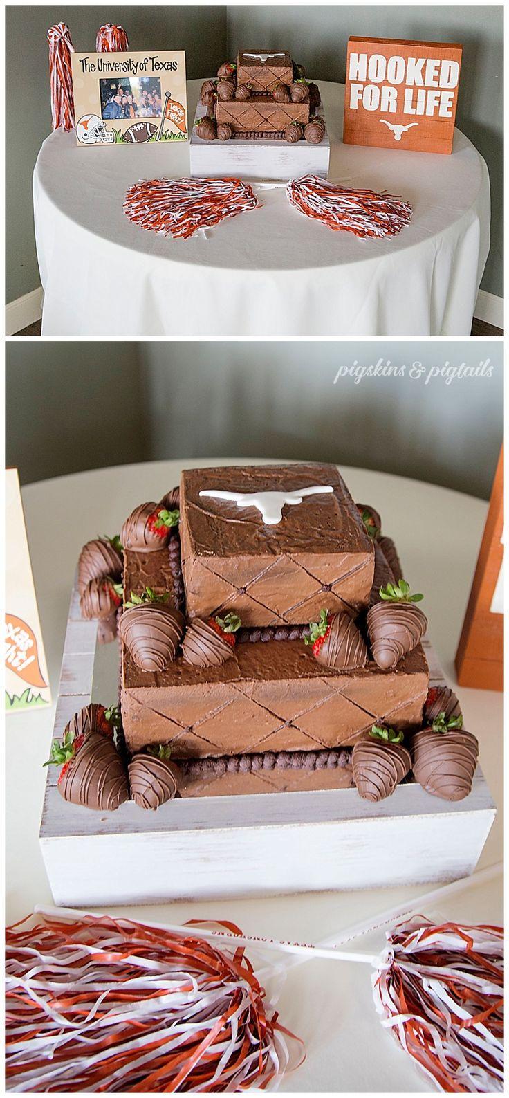Texas Longhorn Groom's Cake, Groom's Table