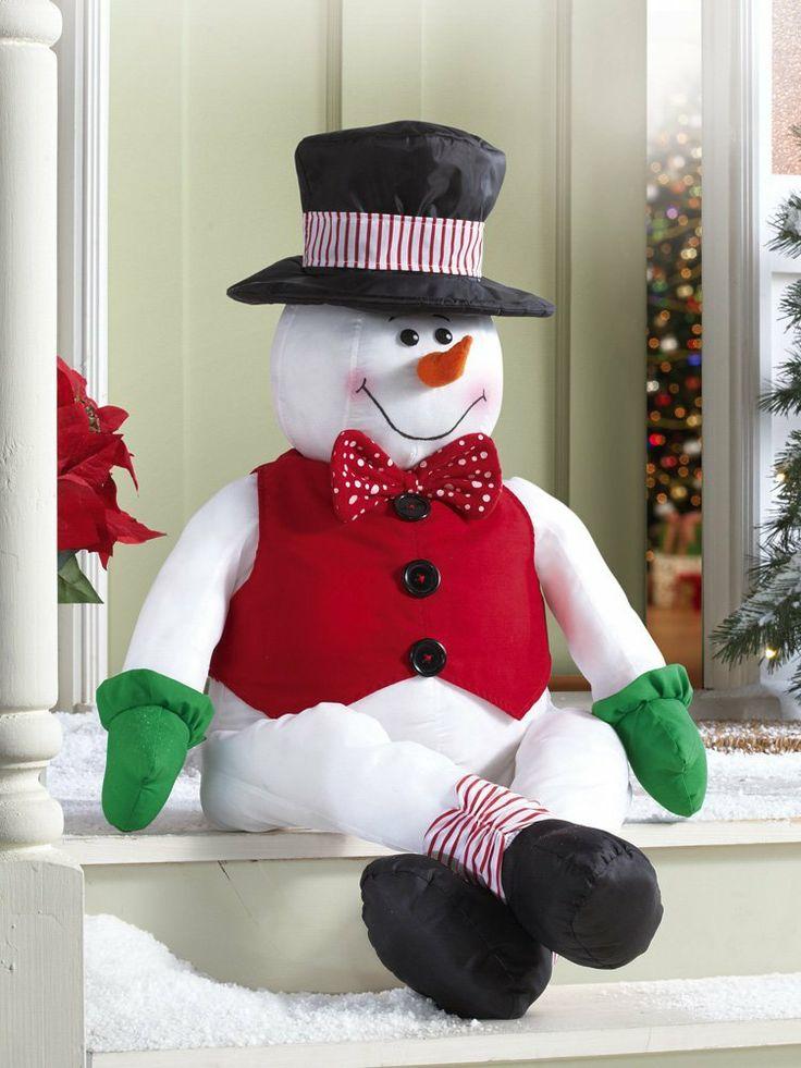 344 Best Images About Snowmen On Pinterest
