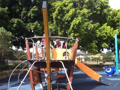 Sydney's Best Playgrounds - Flying Fox Mona Vale