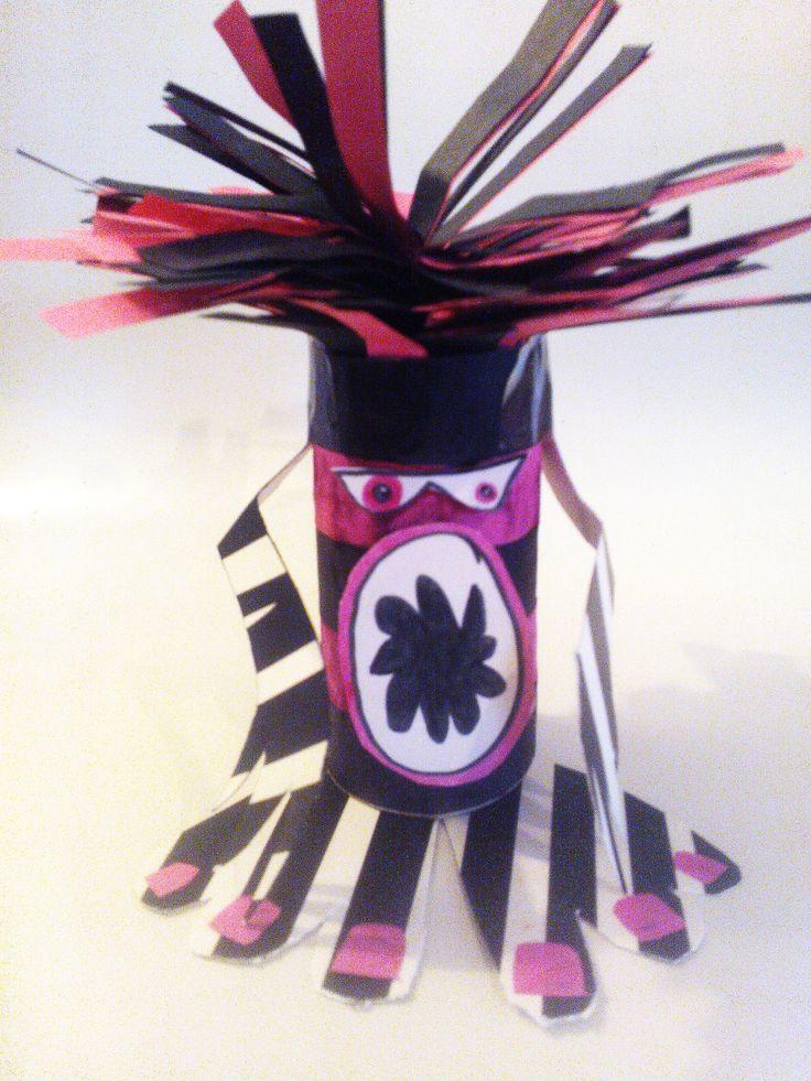 Loo Roll Monsters - Cool it Art