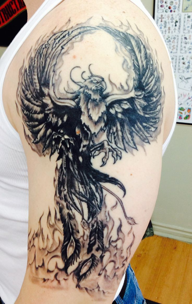 Phoenix tattoo Blacky's tattoo studio