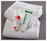 Featuring BioFreeze® and Prossage® at Somatic Massage Therapy